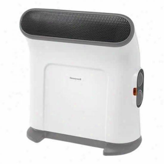 Honeywell White Thermawave Ceramic Heater