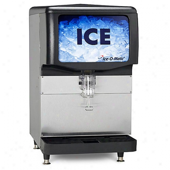 Ice-o-matic 150 Lbs, 22  Ice Dispenser - Polyethylene