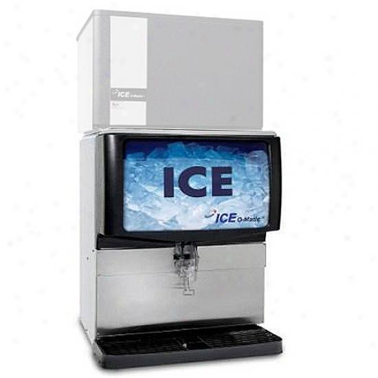 Ice-o-matic 250 Lbs, 30  Ice Dispenser - Polyethylene