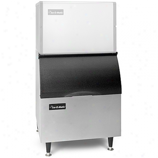 Ice-o-matic 365 Lbs , 30  Ice Bin-  Stainless Steel