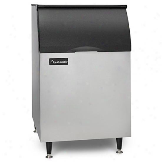 Ice-o-matix 566 Lbs, 30  Ice Bin - Stainless Steel