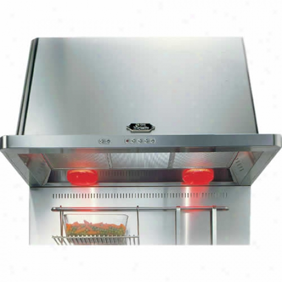 Ilve 36 Inch Stainless Steel Back Water With Ladles Bracket