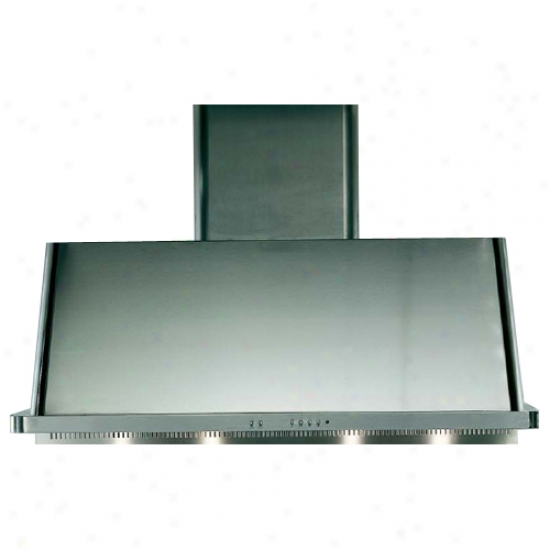 Ilve 40 Inch Range Hood With Warming Lamps