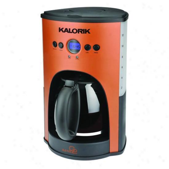 Kalorik 10 Cup Aztec Copper Programmable Coffee Maker