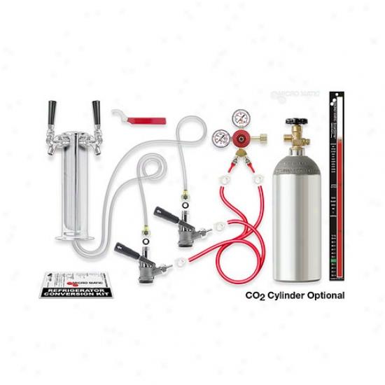 Kegerator Tower Conversion Kit - Dual Keg