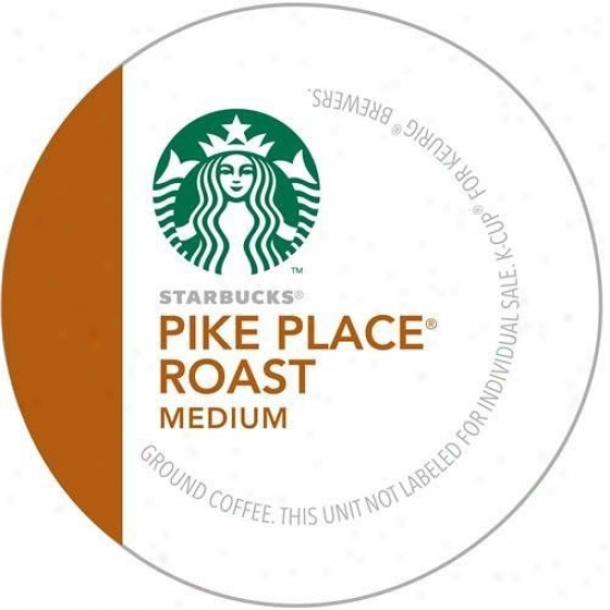 Keurig Starbucks Pike Place Roast K-cups