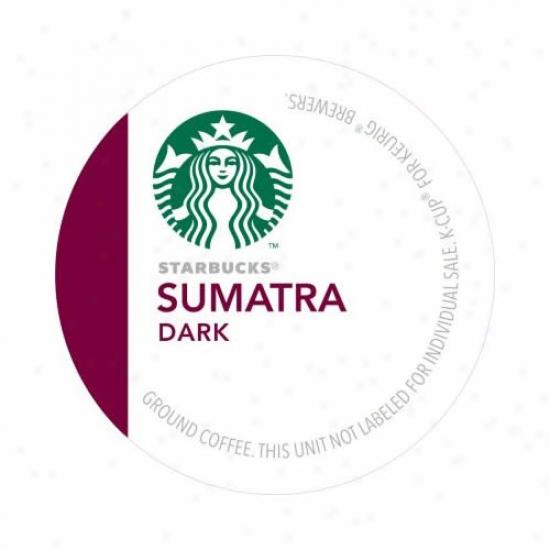 Keurig Starbucks Sumatra K-cups