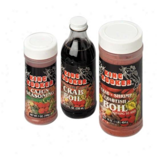 King Kooker Seafood Gift Padk