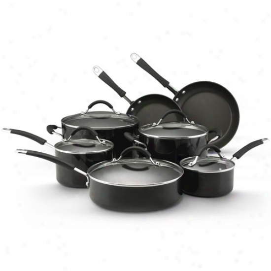 Kitchenaid 12 Piece Nonstick Porcelain Set