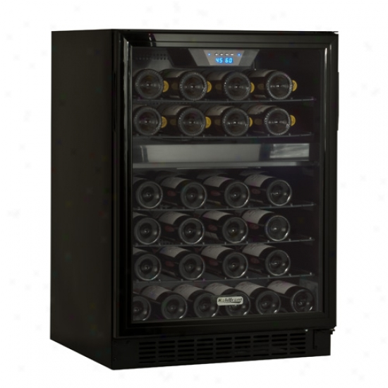 Koldfront 46 Bottle Built-in Dual Zone Wine Cooler