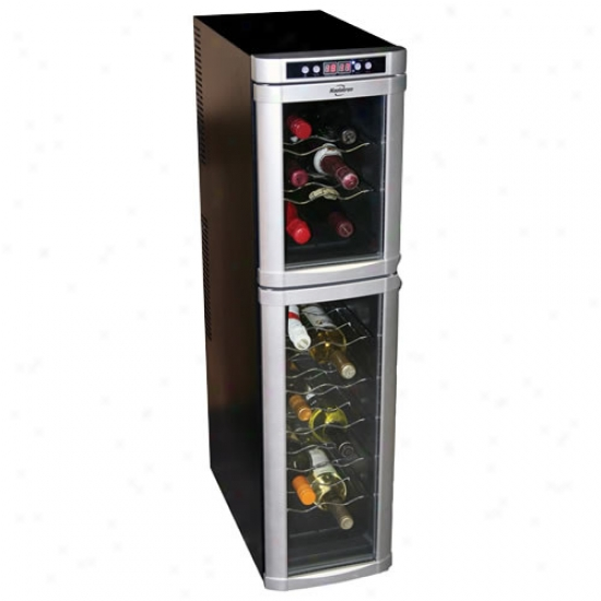 Koolatron 18 Bottle Dual Zone Wine Cooler