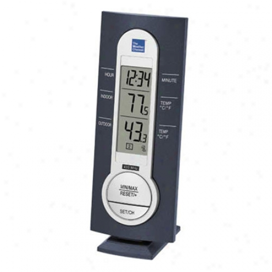 La Crosse Technology Negro Wireless Thermometer