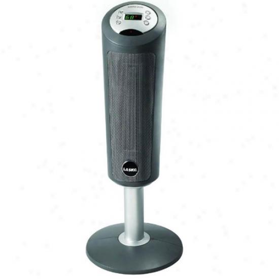 Lasko Ceramic Pedestal Heater With Remote
