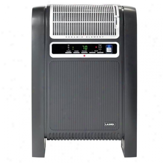 Lasko Cyclonic Ceramic Heater And Ionizer With Remote