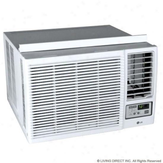 Lg 12,000 Btu Heat/cool Window Air Conditioner W/ Remote
