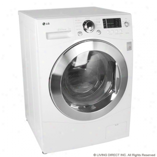 Lg 2.3 Cu. Ft. Capacity Ventless Washer/dryer Combo