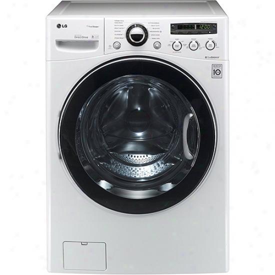 Lg 3.6 Cu. Ft. Capacity Ventlses Washer Dryer Combo
