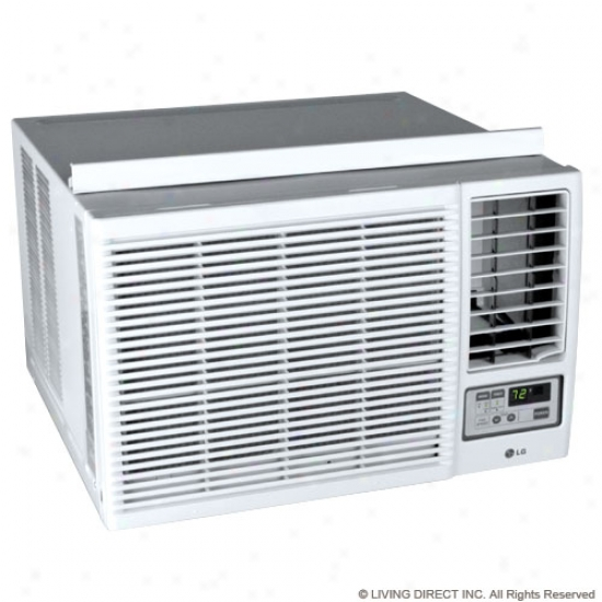 Lg 7,000 Btu Heat/cool Window Air Conditioner W/ Remote