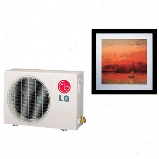 Lg 9000 Btu Single Zone Art Cool Gallery Mini-split System