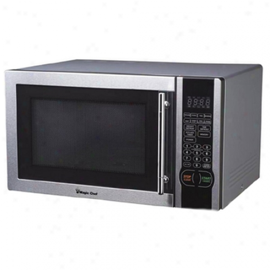 Magic Chef 1.1 Cu. Ft. Microwave Oven - Spotless Trim