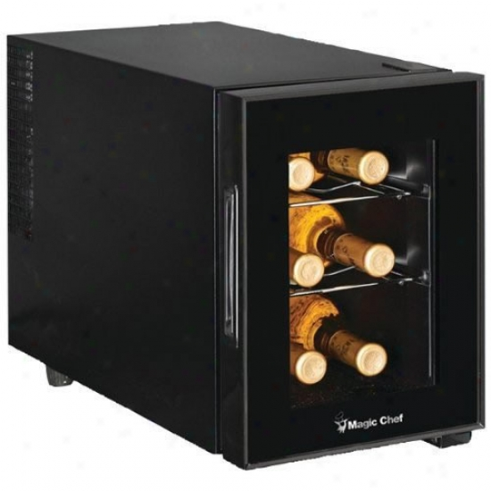 Magic Chef 6 Bottle Wine Cooler
