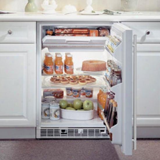 Marvel 6.1 Cu Ft White Refrigerator Freezer