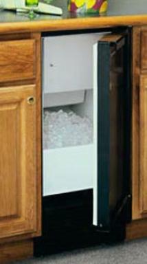 Marvel Clear Ice Maker - White Cabinet, White Full Wrapped Door