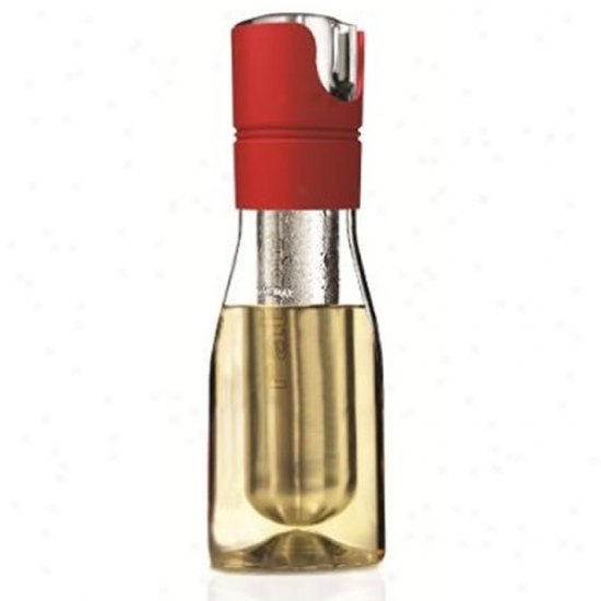 Metrokane Rabbit Wine Chilling Carafe Red