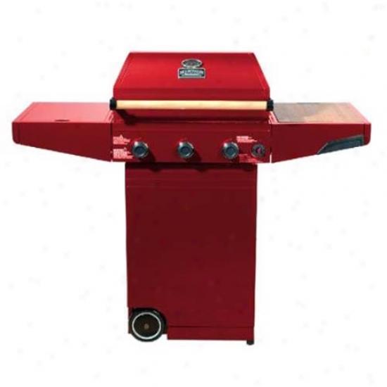 Minden Master Gas Grill - Red