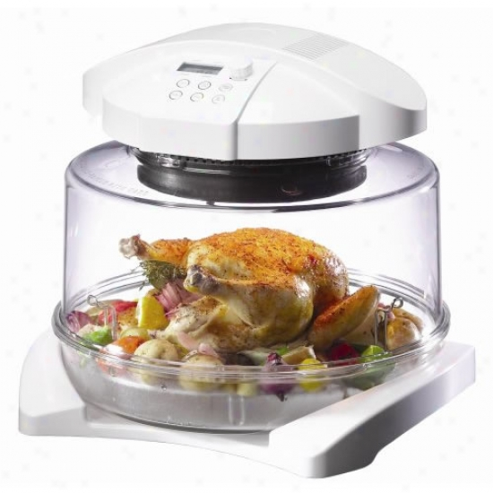Mrningware Infrared Halogen Oven With Extender Ring