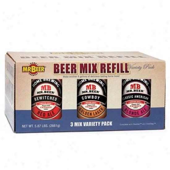 Mr. Beer American Series Refiil Variety 3-pack