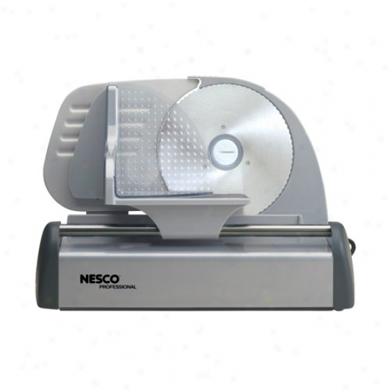 Nesco 150-watt Deli Food Slicer