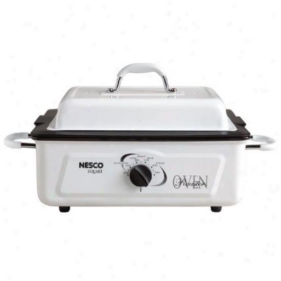 Nesco 5 Qt Porcelain Roaster Oven