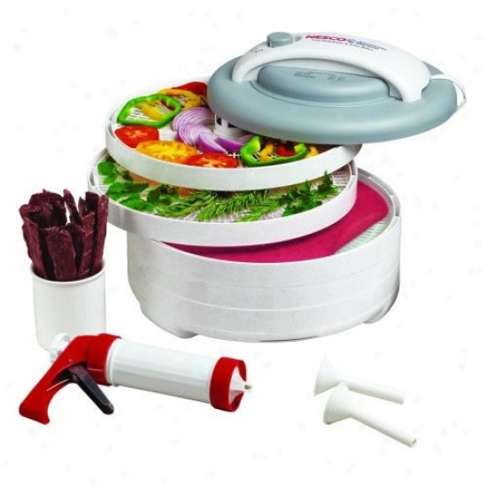 Nesco Snacimaster Express Food Dehydrator All-in-one Kit