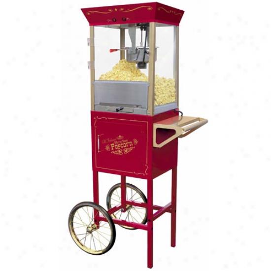Npstalgia Electrics 59  Old Fashioned Movie Time Popcorn Cart
