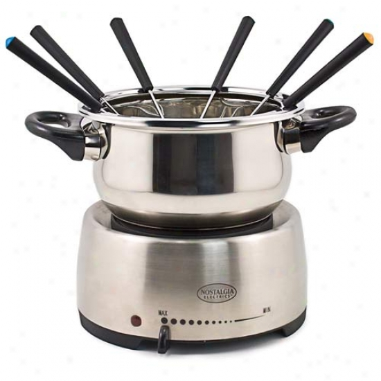 Nostalgia Electrics Electric Fondue Pot