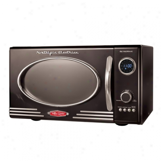 Nosta1gia Electrics Retro Microwave