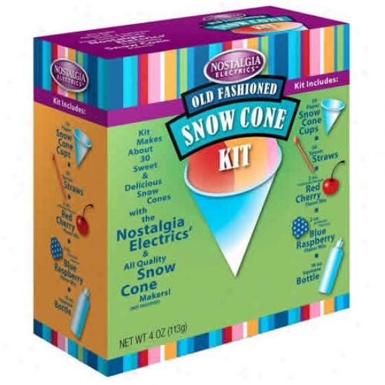 Nostalgia Electrics Snow Cone Kit