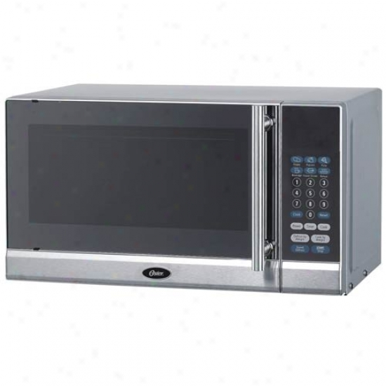 Oster .7 Cu Ft Stainless Steel Microwave Oven