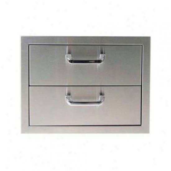 Exterior Greatriom Company Dohble Drawer Storage Unit