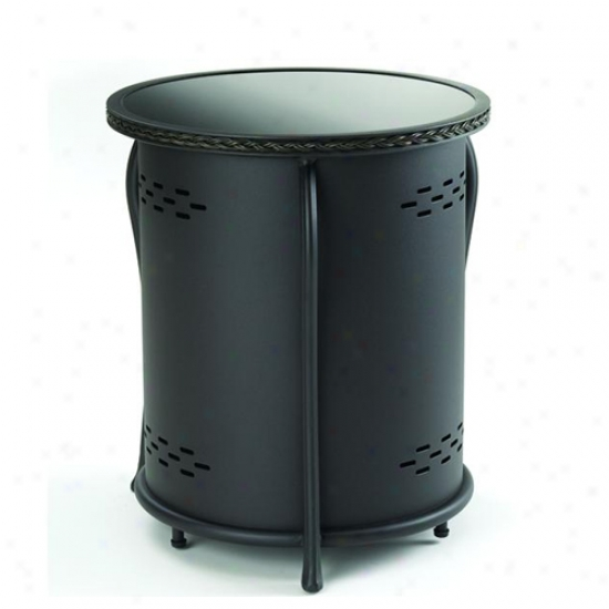 Outdoor Greatroom Company Lp Tank Cover Side Table With Glass Top