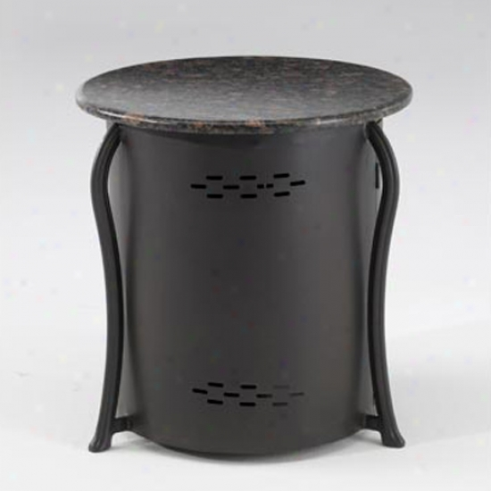 Exterior Greatroom Company Lp Cistern Cover Side Table With Granite Top