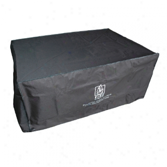 Outoor Greatroom Company Rectangular Vinyl Cover For Naples/sierra/san Juan Firepits