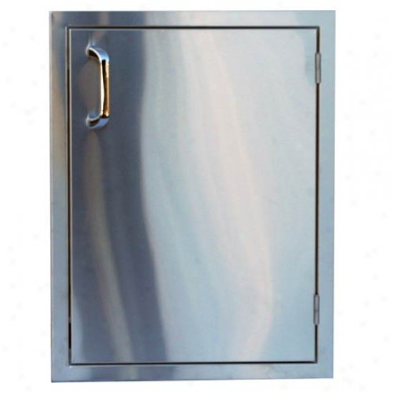 Outdoor Greatroom Company Single Vertical Access Door