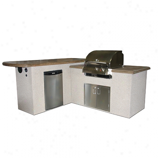 Outdkor Greatroom Company St. Anthony Outdoor Kitchen