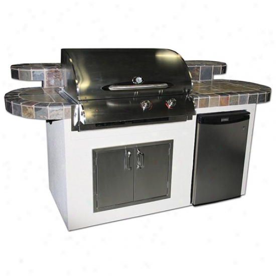 Outdoor Greatroom Company St. Martin Outdoor Kitchen