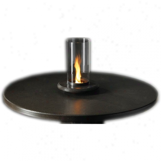 Outdoor Greatroom Intrigue Table Top Venturi Flame Fire Indentation For 1 Lb. Propane Tank