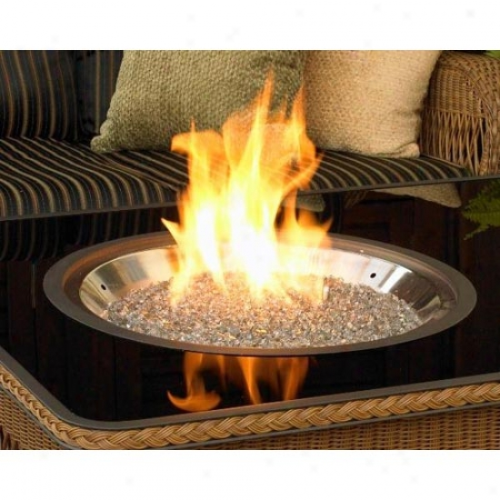 Outdoor Greatroom Move about Crystai Fire Stajnless Steel Fire Pit Burner