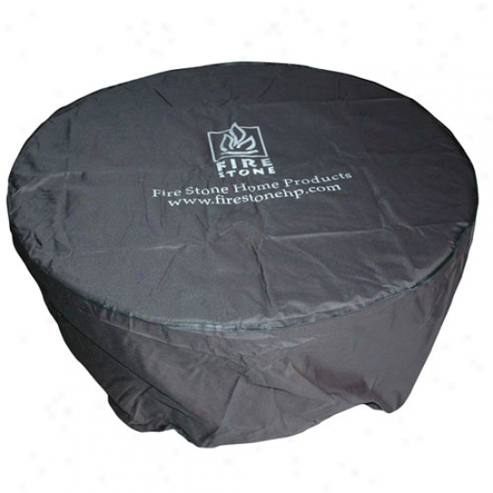 Outdooor Greatroom Round Vinyl Cover For Colonial 48 Fire Pit