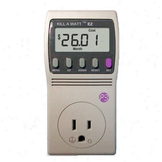 P3 International Kill-a-watt Ez Electric Usage Monitor